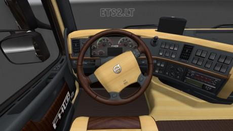 Volvo-FH-2009-Wood-Interior-1