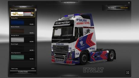Volvo-FH-2012-Police-Skin