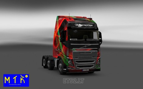Volvo-FH-2012-Red-Effect-Skin-1