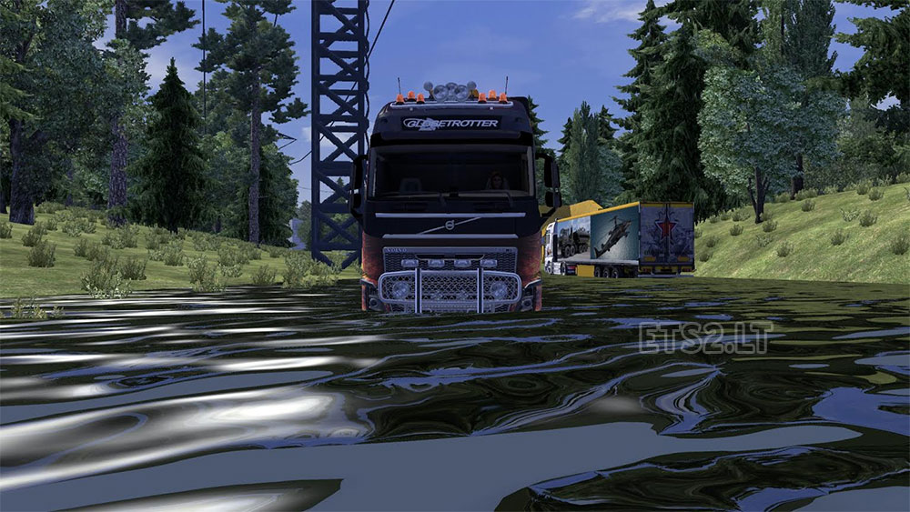how to get back in road in ets 2