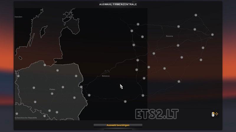 Russ Map V ETS Mods - R us map