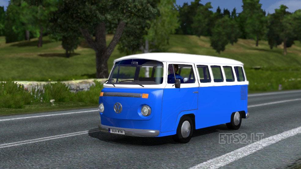 volkswagen combi t2 traffic ai ets 2 mods. Black Bedroom Furniture Sets. Home Design Ideas