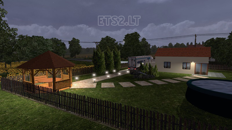 Home Sweet Home Mod ETS 2 Mods