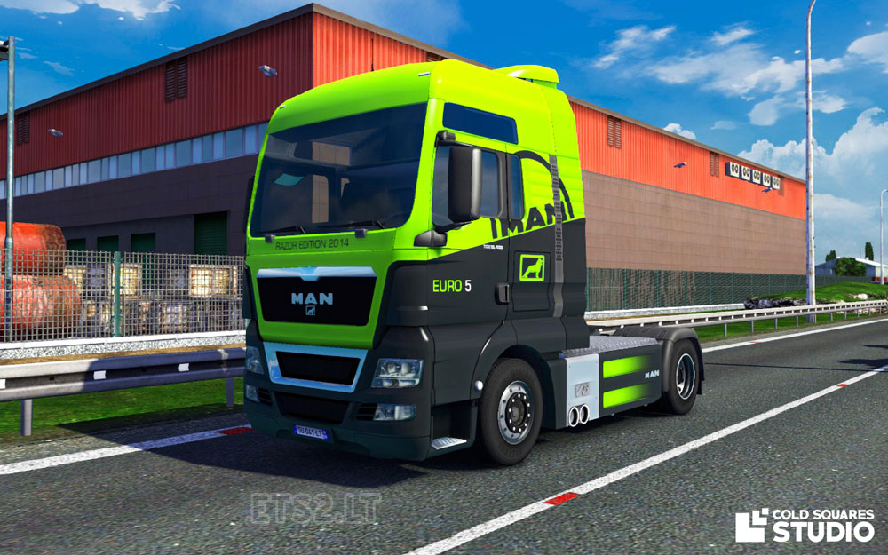 man tgx 2014 euro 5 razor edition ets 2 mods. Black Bedroom Furniture Sets. Home Design Ideas