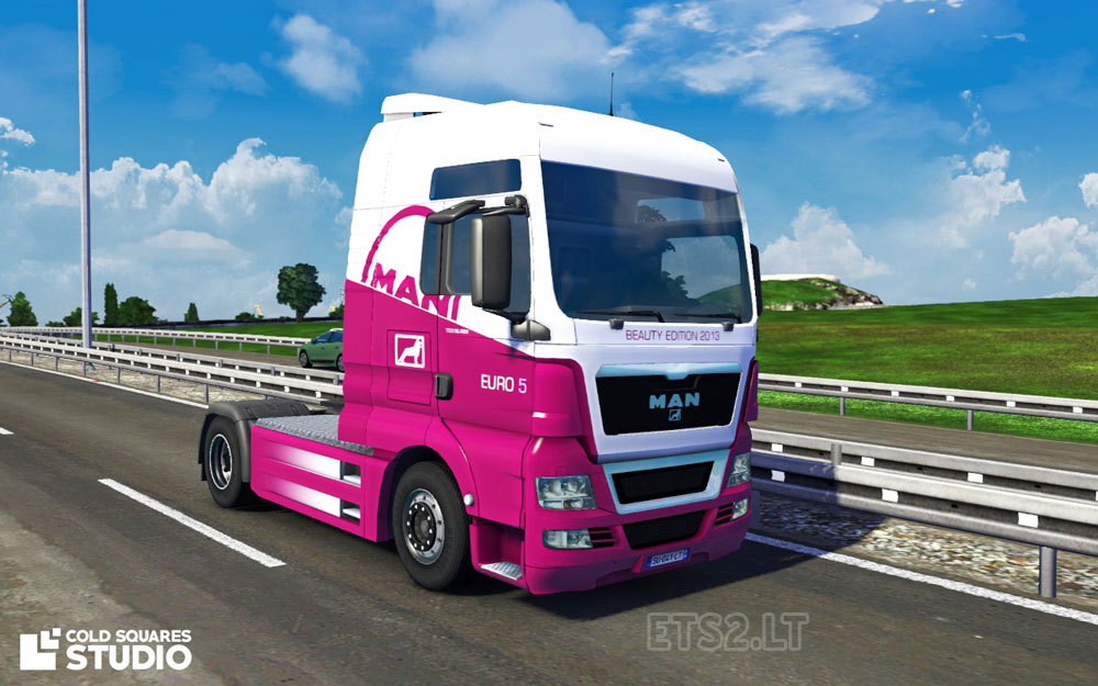 man tgx 2014 euro 5 beauty edition ets 2 mods. Black Bedroom Furniture Sets. Home Design Ideas
