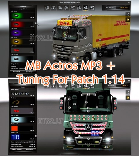 MB-Actros-MP3+Tuning