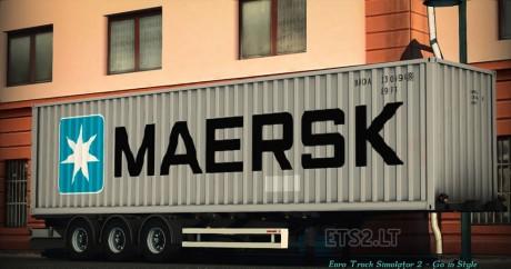 Maersk-Trailer