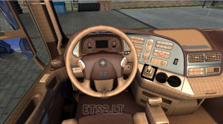 Mercedes-Actros-Leather-Interior