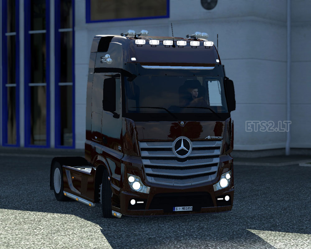 Mercedes benz actros mp4 for 2014 mercedes benz truck