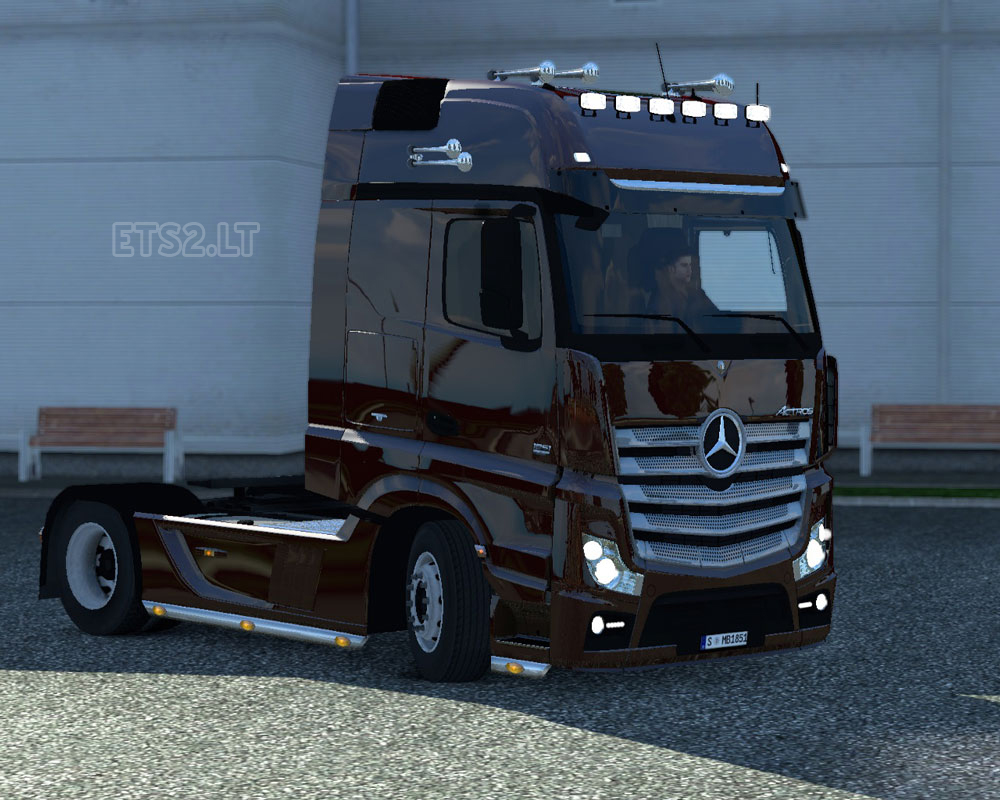 Mercedes benz actros mp4 ets 2 mods for Mercedes benz astros