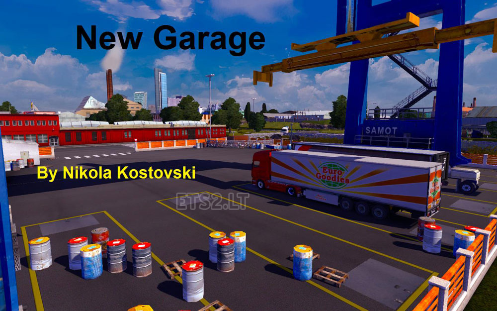 New garage ets 2 mods for New garage