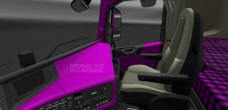 Volvo-FH-2012-Dark-Pink-Interior-1