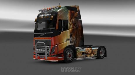 Volvo-FH-2012-Lion-Skin-1
