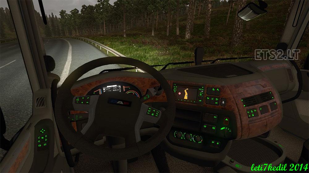Daf dashboard ets 2 mods part 5 for Daf euro 6 interieur