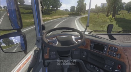 DAF-XF-Euro-6-Animated-Steering-Column