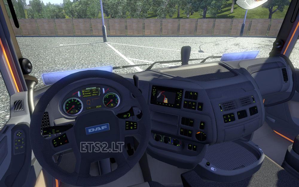 Daf dashboard ets 2 mods part 10 for Daf euro 6 interieur