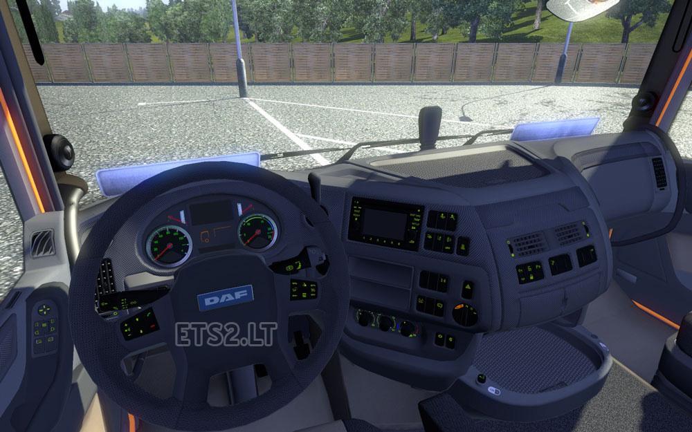 Daf xf euro 6 interior v 2 0 ets 2 mods for Daf euro 6 interieur