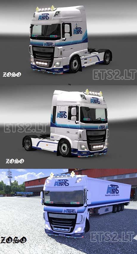 DAF-XF-Euro-6-Italtrans-Skin