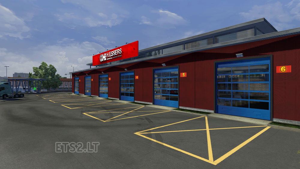 Hd H Essers New Expensive Garage Ets 2 Mods