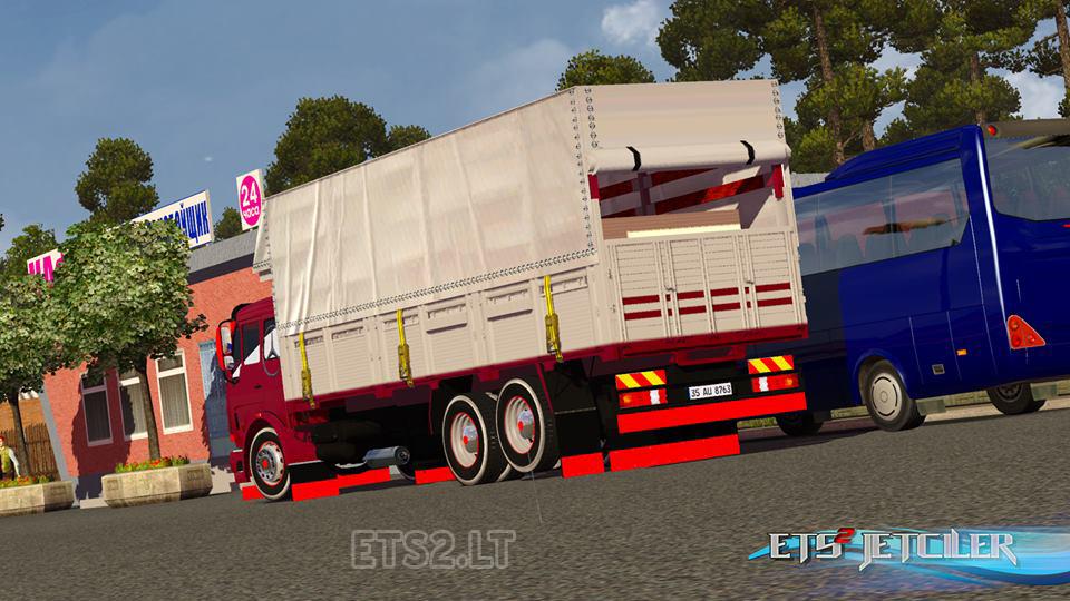 Mercedes 2521 Pickup Euro Truck Simulator 2 | GameMods15 - Euro ...