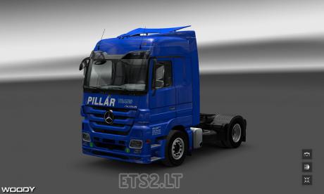 Mercedes-Pillar-Trans-Skin