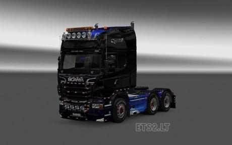 Scania-Black-Blue-Skin