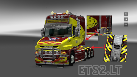 mods euro truck simulator 2 convoi exceptionnel