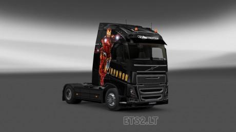Volvo-FH-2012-Iron-Man-Skin-1