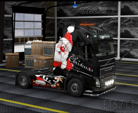 Volvo FH 2012 Marry Christmas Skin