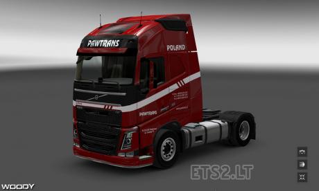 Volvo-FH-2012-Pawtrans-Skin-1