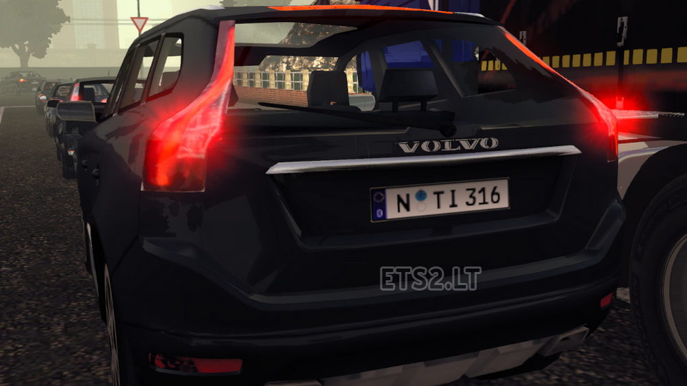volvo xc60 real logo | ets 2 mods