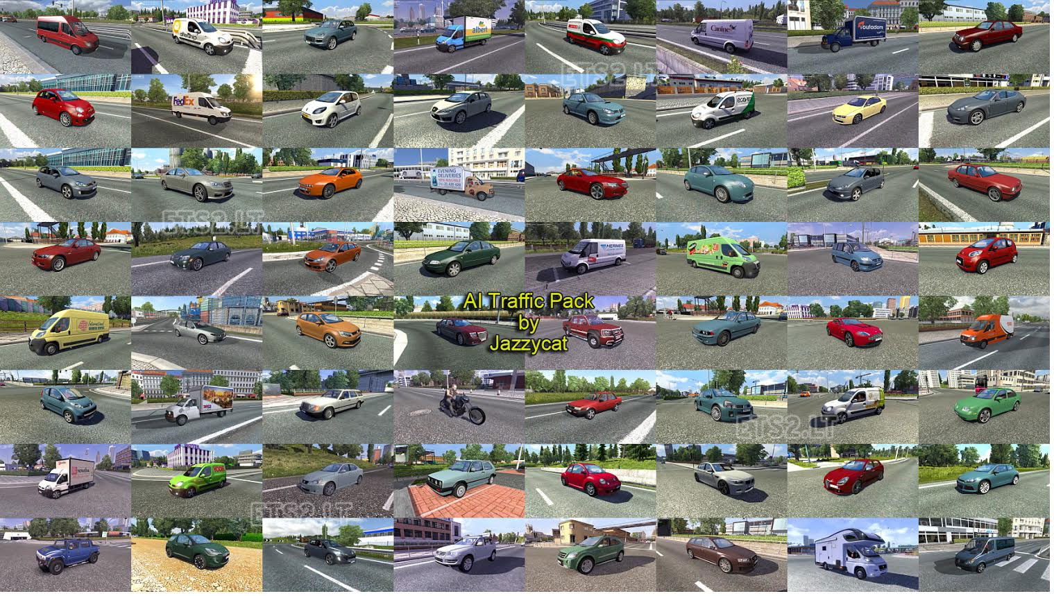 Ai Traffic Pack By Jazzycat V1 9 Ets 2 Mods