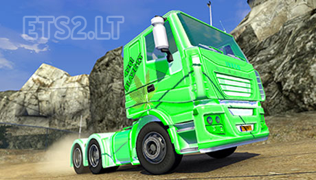Iveco-Stralis-420-Paintjob-and-Weed-Trailer-1
