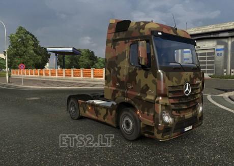 Mercedes-MP-4-Army-Skin