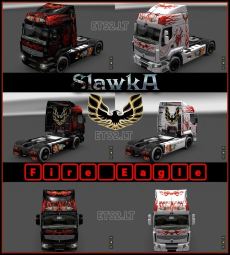 Renault-Premium-Fire-Eagle-Skin