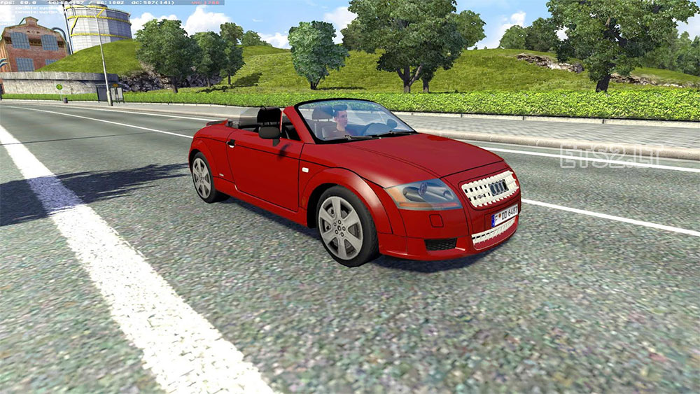 audi tt cabrio ai traffic car ets 2 mods. Black Bedroom Furniture Sets. Home Design Ideas