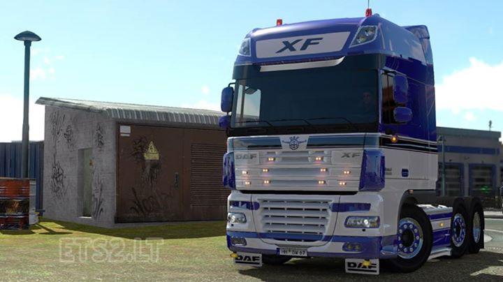Daf xf tuning mod ets2 euro truck simulator 2 youtube - Daf Xf Holland Edit Ets 2 Mods