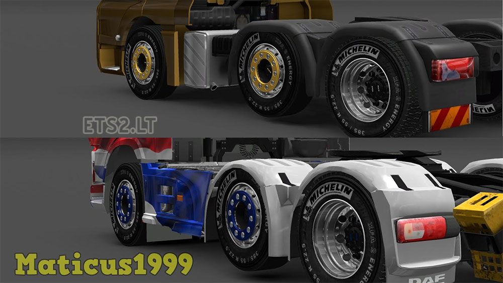 White Tire Paint >> 50k Wheels Pack | ETS 2 mods