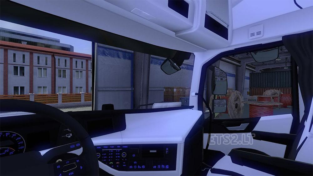 Scania Interior Lights Scania C Saaby Streamline Interior