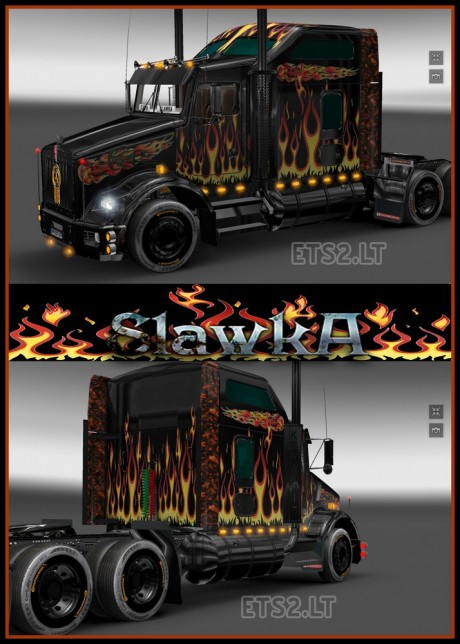 Kenworth-T-800-Fire-Skin