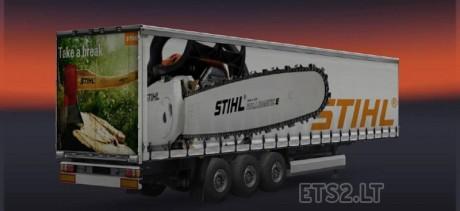 Stihl-Trailer