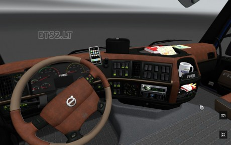 Volvo-FH-2009-Brown-Interior-1