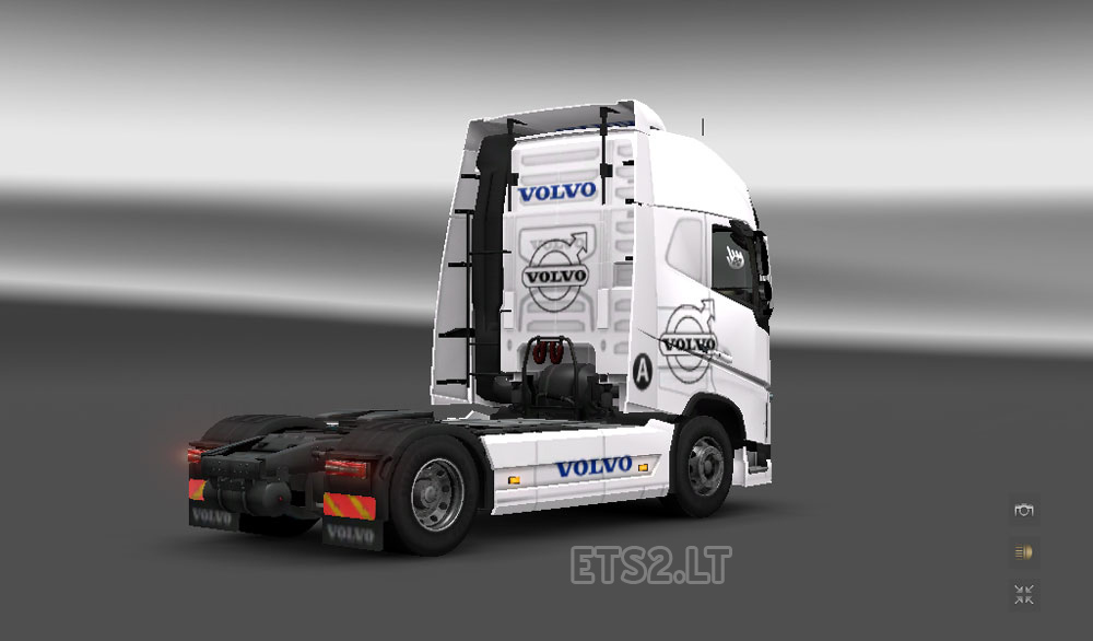 volvo logo skin ets 2 mods. Black Bedroom Furniture Sets. Home Design Ideas