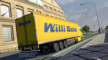 Willi-Betz-Trailer