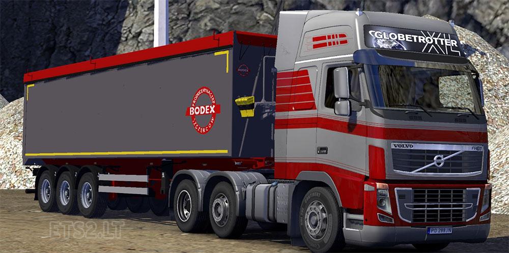 Bodex tipper trailer | ETS 2 mods
