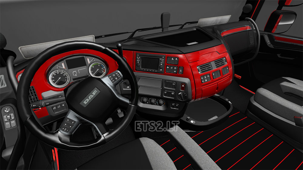Daf interior ets 2 mods part 26 - Nice interior pic ...