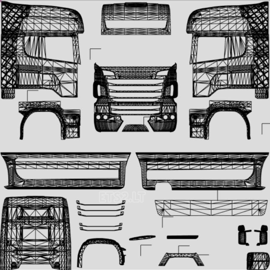 template all truck ets 2 mods part 3