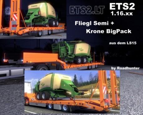 Fliegl-Semi-Trailer-with-Krone-Big-Pack