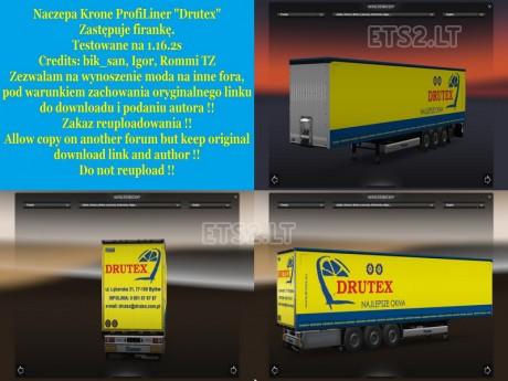 Krone-Profiliner-Drutex-Trailer