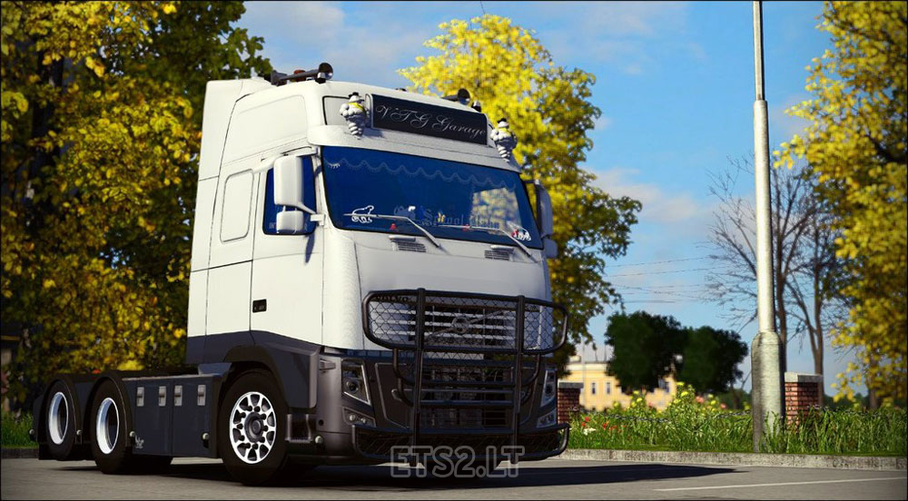 Volvo fh16 garage ets 2 mods for Garage volvo rouen